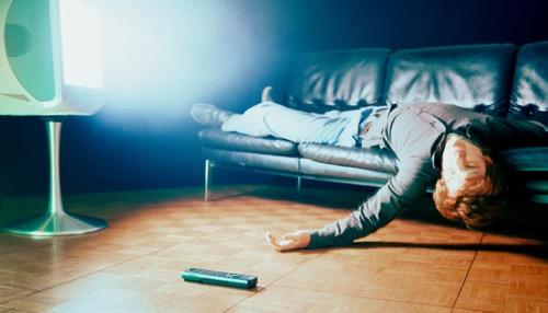 TV mellett aludni nem jó