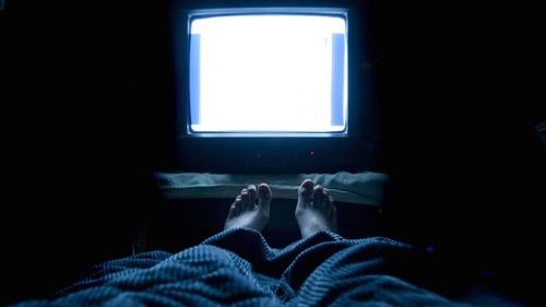 TV nézés alvás előtt