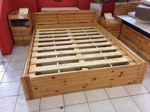 fenyő ágy lecsuka