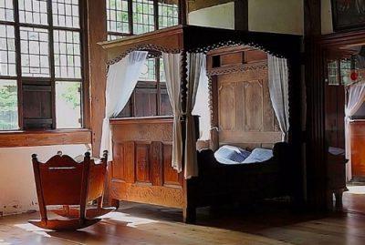 Középkori ágy