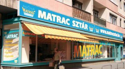 Régi Matracsztár üzlet