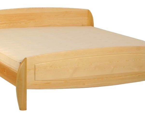 Ágnes ágyneműtartós bükk ágy