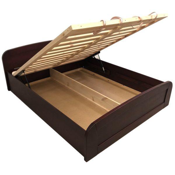 Atlanti Slim ágyneműtartós bükk ágy