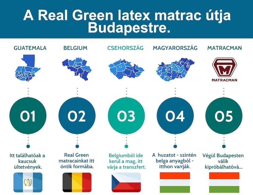 A Real Green útja a dzsungeltől Budapestig.