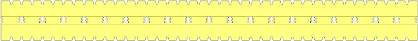 Small Springy HD habrugós matrac keresztmetszete