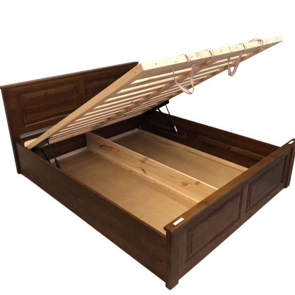 Classic fenyő ágyneműtartós ágykeret