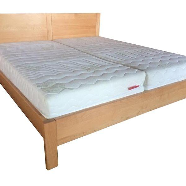 Dorottya ágyneműtartós bükk ágy