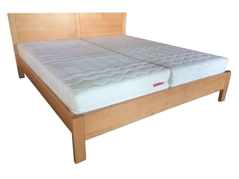 Dorottya Slim bükk ágyneműtartós ágy