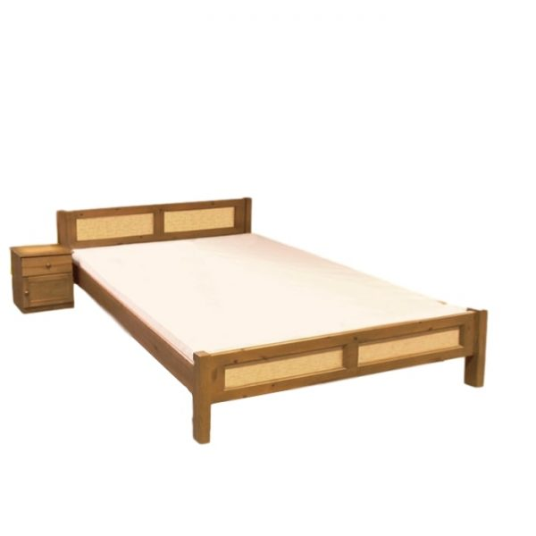 Bükk ágyneműtartós ágy Florida