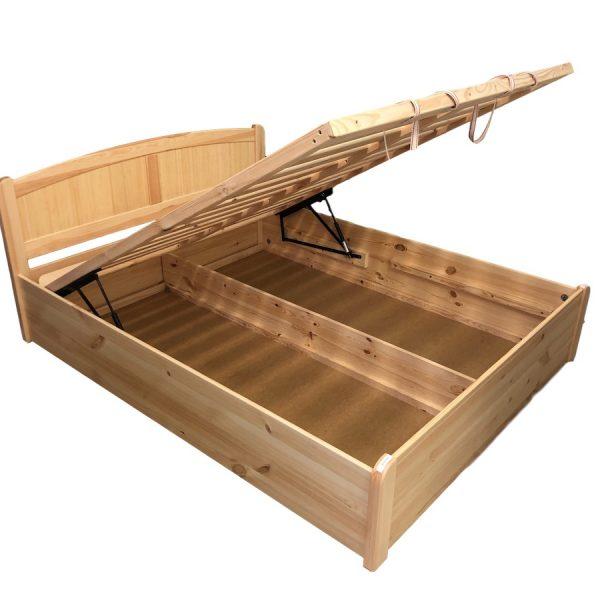 Jáspis bükk ágyneműtartós ágykeret